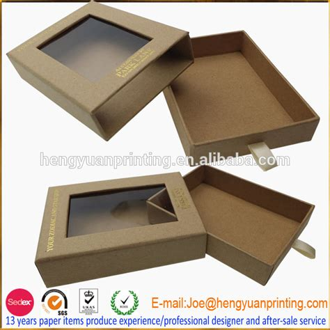 Craft Paper Boxes - craft paper gift box with window ch1087 buy craft paper