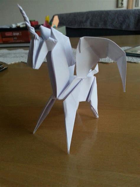 tutorial origami pegasus 1000 ideas about origami horse on pinterest horse