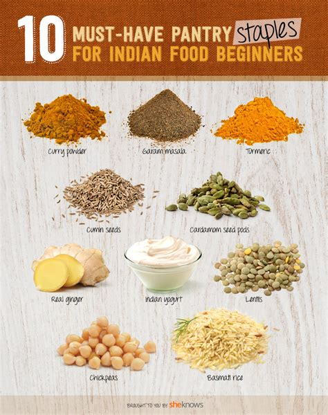 Food Pantry Staples by 10 Indian Food Pantry Staples For Beginners And Enthusiasts