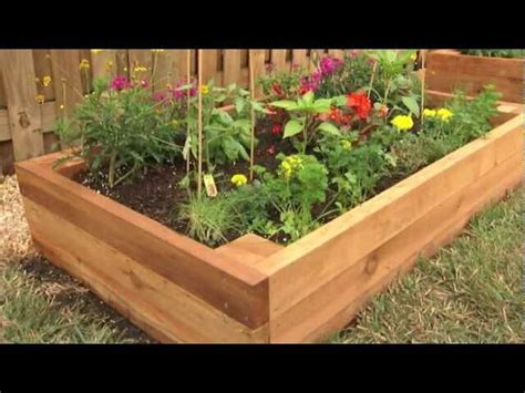 how to create a flower bed how to build a raised garden bed florida landscaping today
