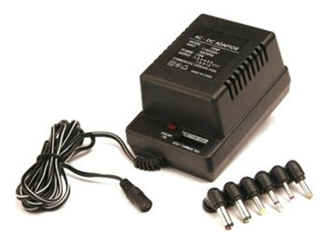 Adaptor Multi Volt power supply wattage calculator