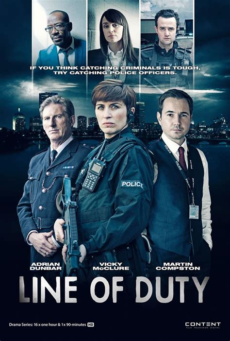 Line of Duty International Poster ? CoffeeandCigarettes