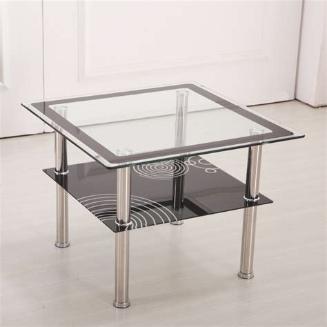 Coffee Table For Small Apartment Small Apartment Minimalist Modern Coffee Table Sofa Side A Few Corner A Few Glass Square Table
