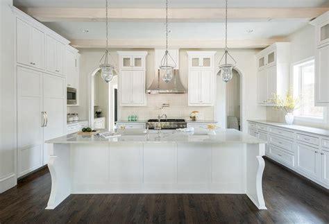 curved kitchen island legs transitional kitchen