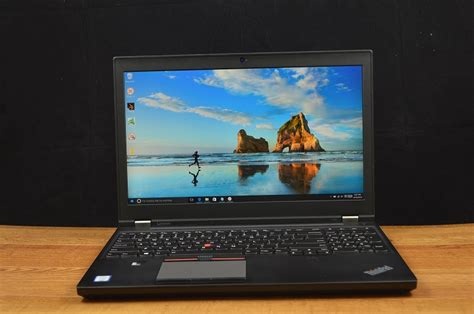 Laptop Lenovo Thinkpad P50 Lenovo Thinkpad P50 Review A Workstation For All