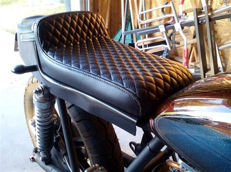 Mike S Custom Upholstery Wasatch Upholstery Does Awesome Utah Cafe Racer
