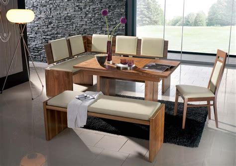 corner kitchen table and bench set breakfast nook contemporary