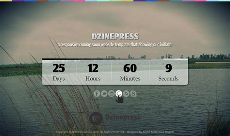 Layout Design Psd | a responsive coming soon web layout design with free psd