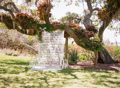 Secret Garden Wedding Inspiration At Marie Selby Botanical Selby Botanical Gardens Wedding