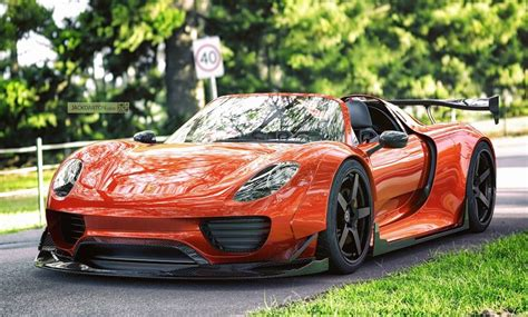 widebody porsche 918 here s some proper porsche 918 wide renderings