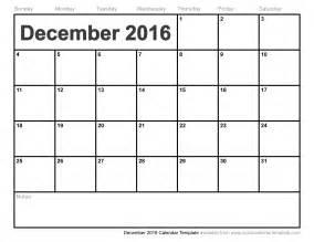 december 2016 calendar template monthly calendar printable