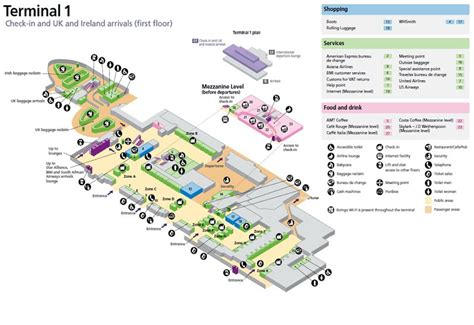 Zurich Airport Floor Plan by Sofia Airport Terminal Map