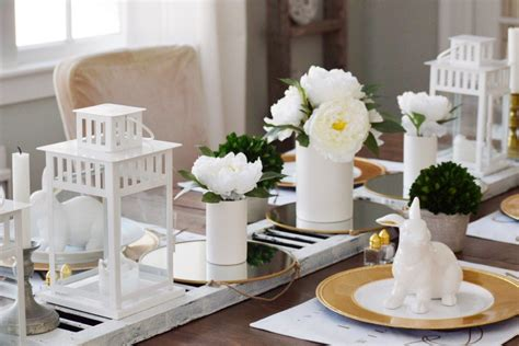simple table settings creating a rustic and simple table setting my thrifty house