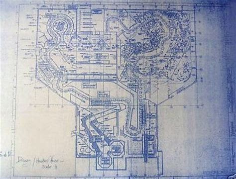 haunted mansion floor plan disneyland haunted mansion ride plan blueprint by
