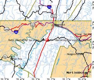 Bath berkeley springs west virginia wv 25411 profile population