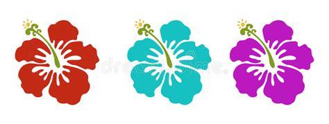 fiori hawaiani fiori hawaiani illustrazione vettoriale illustrazione di