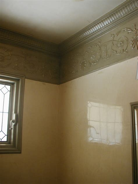 How To Paint Faux Bricks - european venetian plaster with patina lincrusta trim dino fauci paint color design