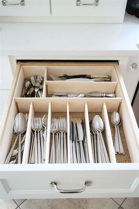 cutlery drawer organizer ideas drawer organizing tips that keep the mess at bay