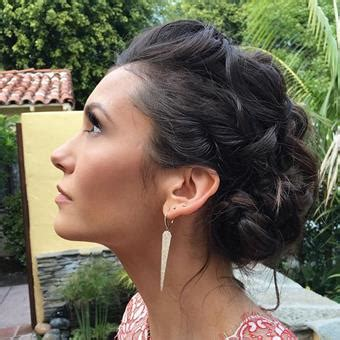 what type of products does riawna capri use how to get nina dobrev s golden globes hair more com