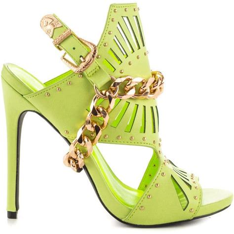 lime green high heel sandals best 25 green high heels ideas on image