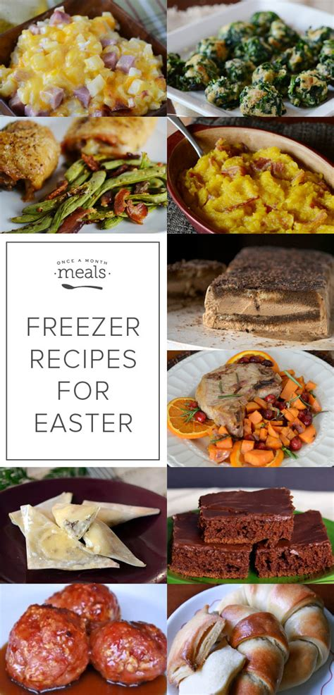 not your s make ahead and freeze cookbook revised and expanded edition books make ahead freezer recipes for easter dinner once a