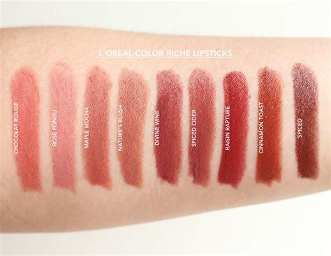 Lipstick L Oreal Color Riche l oreal color riche lipstick shades the of