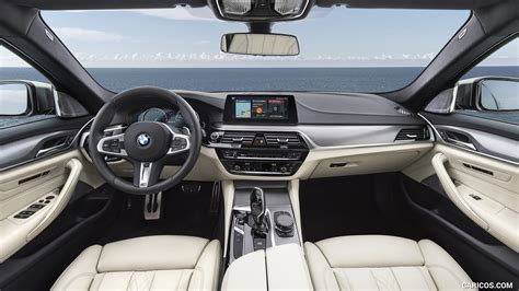2018 bmw m550i xdrive interior cockpit hd wallpaper 28