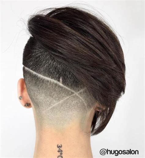 back of head shaved hair designs 20 cute shaved hairstyles for women