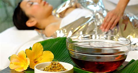 How To Do A Herbal Detox Wrap by Ryukyu Herbal Detox Spa The Busena Terrace