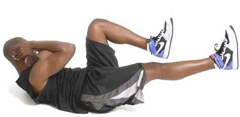 healthy living bicycle crunches exercise among top 10 lower ab exercise