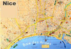 Map Of Nice France by Nice Sightseeing Map