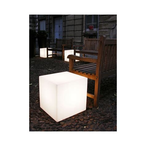 table basse led sans fil ezooq