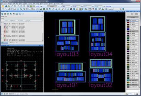 layout tool laker open access based custom ic design platform targets 28 and