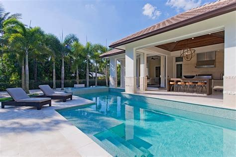 florida house plans with pool west indies home in naples florida