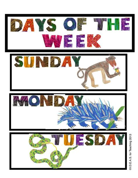 all the days of my books 12 best images about today is monday on