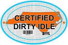 Certified Clean Idle Sticker