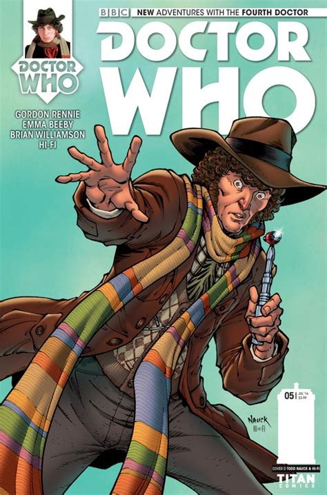 level 2 doctor who fourth 9 10 review titan comics fourth doctor mini series