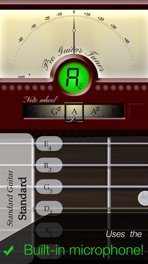 guitar tuner app android pro guitar tuner android apps on play
