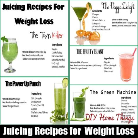 Detox Juice Diet For Weight Loss by Juicing Recipes For Detoxification Weight Loss Diy