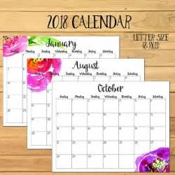 Calendar 2018 Qut 2018 Monthly Calendar 2017 Calendar 2018 Printable Calendar