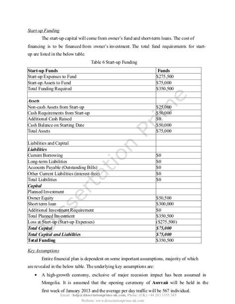 rest dissertation opening a restaurant plan dissertation sle