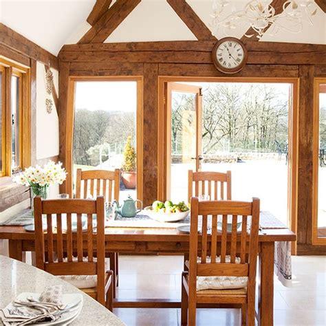 Dining Room Framed by Oak Framed Country Dining Room Dining Room Decorating
