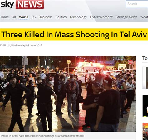 Ynetnews News International Coverage Of Ynetnews News International Coverage Of Ta Terror Attack Refer To Shooting But