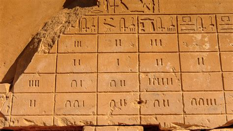 imagenes numeros egipcios representaci 243 n de n 250 meros mediante jerogl 237 ficos egipcios