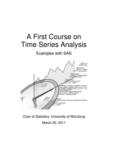 research paper on time series analysis a course on time series analysis pdf