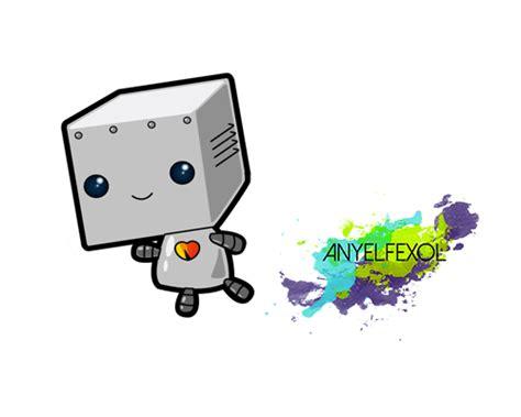 Imagenes De Robots Kawaii | kawaii sticker 5 robot by anyelfexol on deviantart