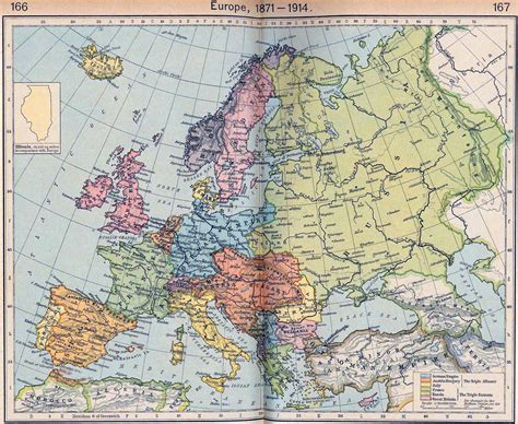 european map 1914 map of europe 1871 1914