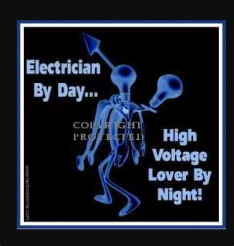 electrician humor images  pinterest