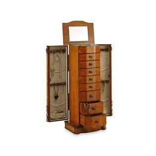 louis xvi jewelry armoire hives honey louis xvi honey oak jewelry armoire