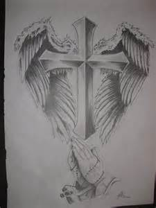 cross with wings by ragefish21 on deviantart
